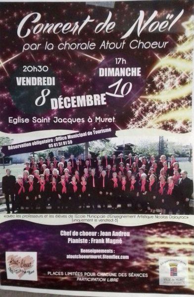 Affiche concert de Noêl