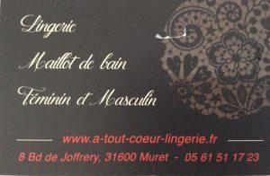 A TOUT COEUR Lingerie et Maillot de Bain