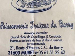 POISSONNERIE DU BARRY » L ETOILE DE MER»